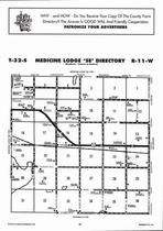 Medicine Lodge - Southeast, Directory Map, Barber County 2006